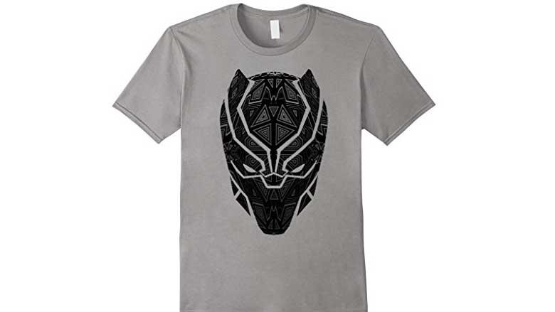 black panther geometric prism shirt