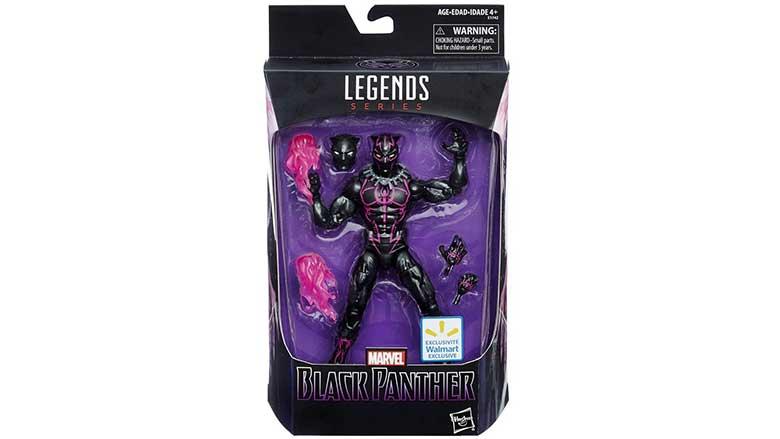 black panther hero action figure