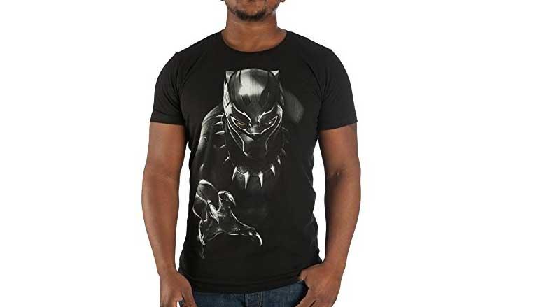 black black panther t-shirt