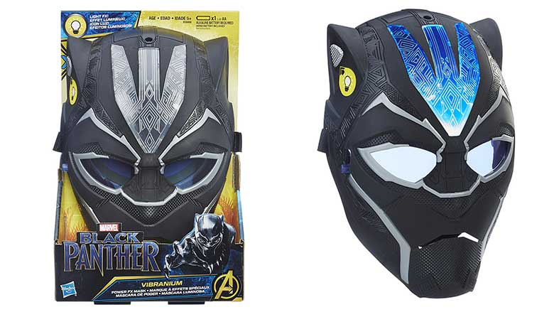 black panther vibranium power fx mask