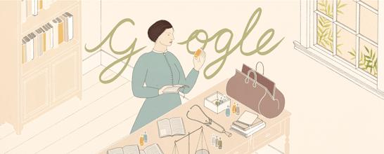 elizabeth blackwell, google doodle