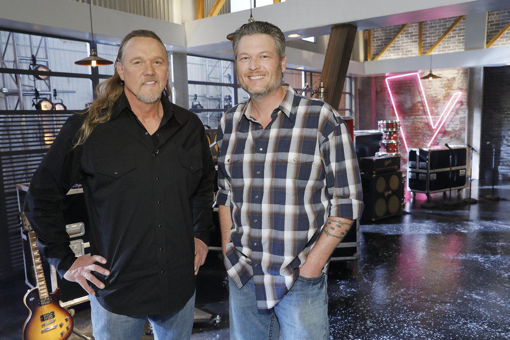 Trace Adkins And Blake Shelton, Trace Adkins On The Voice