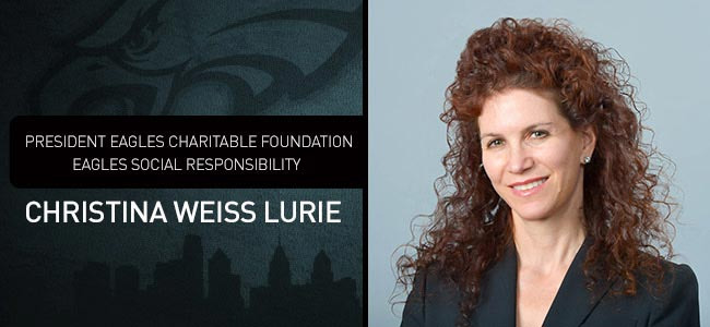 Christina Weiss Lurie Eagles, Christina Weiss Lurie ex wife, Christina Weiss Lurie Jeff Lurie