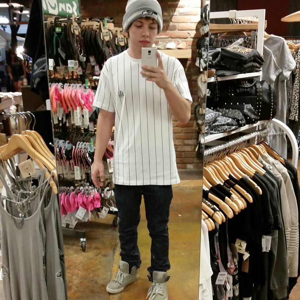 Diego Leanos Lil Xan pictured before tattoos