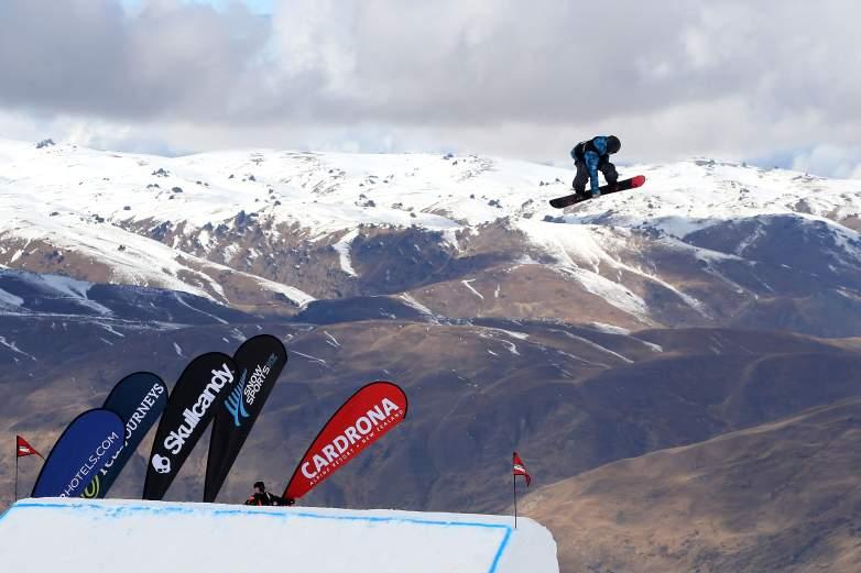 Snowboard Big Air rules