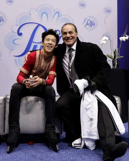 Rafael Arutyunyan, Nathan Chen coach