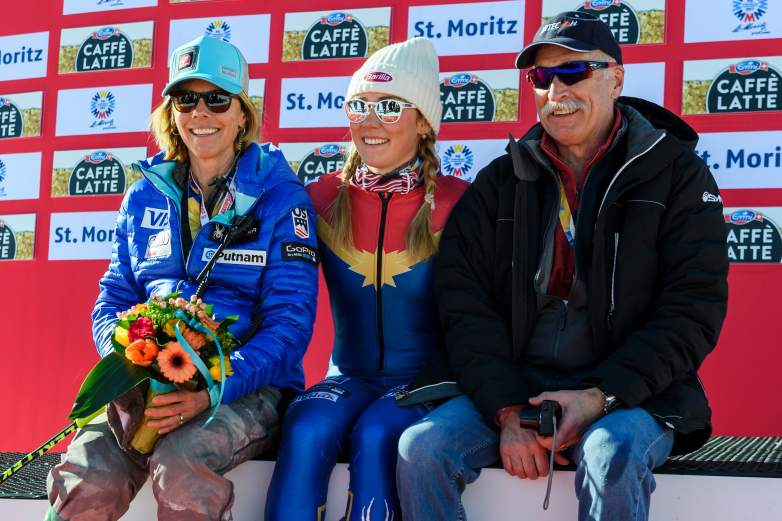 Mikaela Shiffrin parents