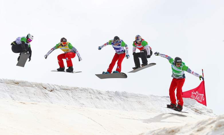 Snowboard Cross rules