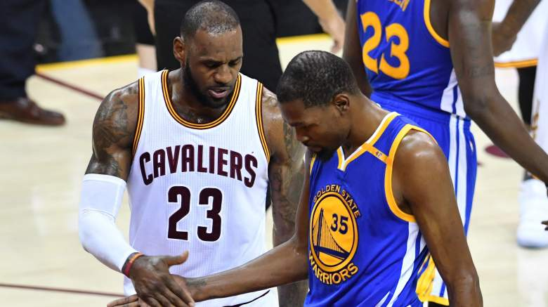 lebron james, donald trump, comments, what did he say, kevin durant