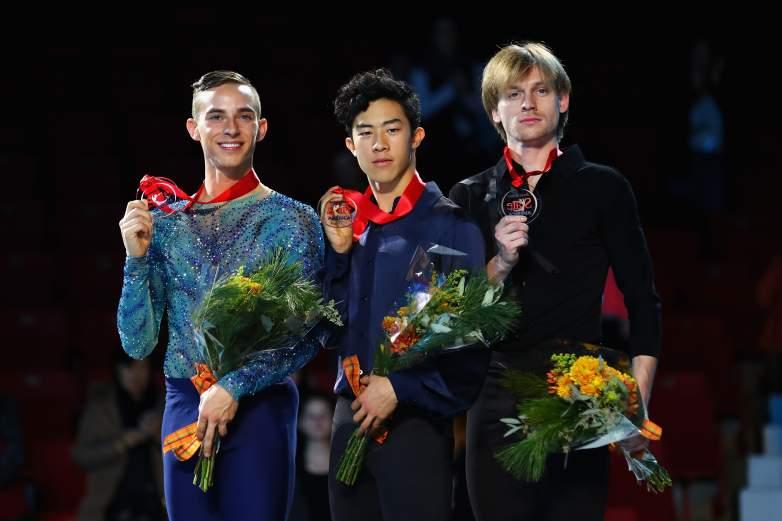 Nathan Chen, Nathan Chen coach, Adam Rippon coach