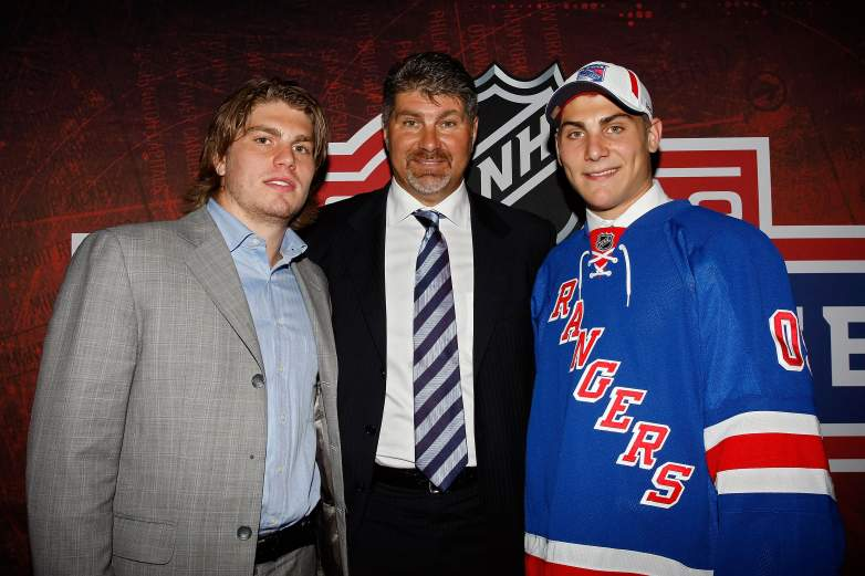 Ray Bourque, Chris Bourque, Chris Bourque family