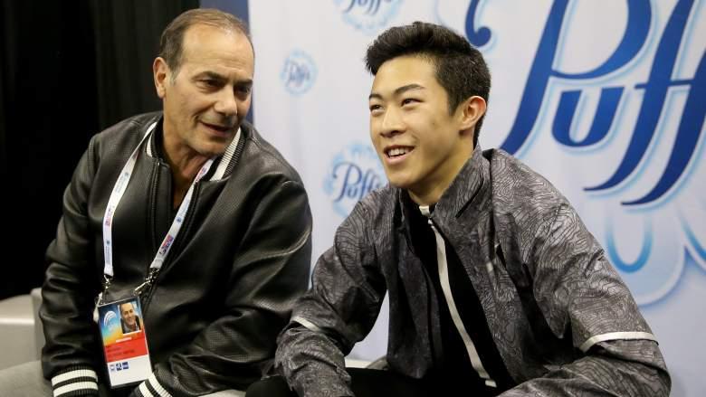 Nathan Chen, Nathan Chen coach, Rafael Arutyunyan