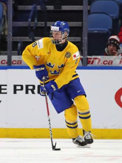 Rasmus Dahlin Olympics