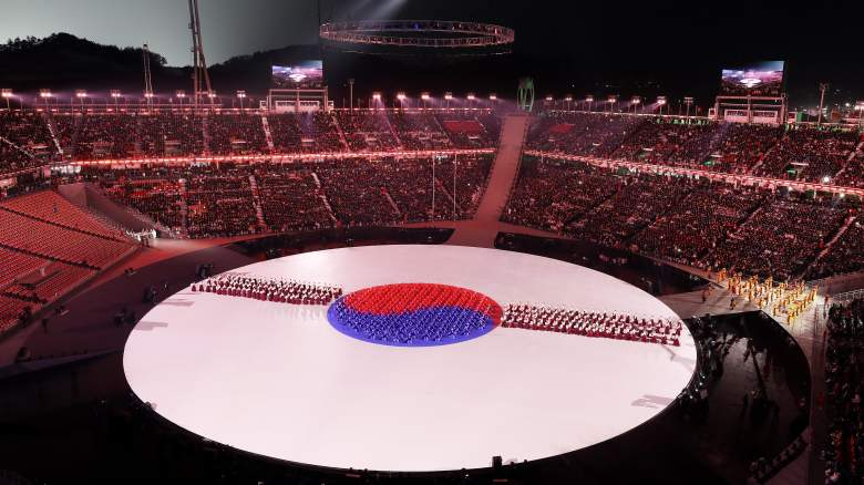 Pyeongchang Olympic Stadium, 2018 Closing Ceremony