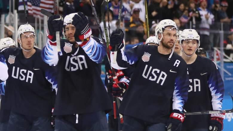 US Men's Hockey, Winter Olympics 2018