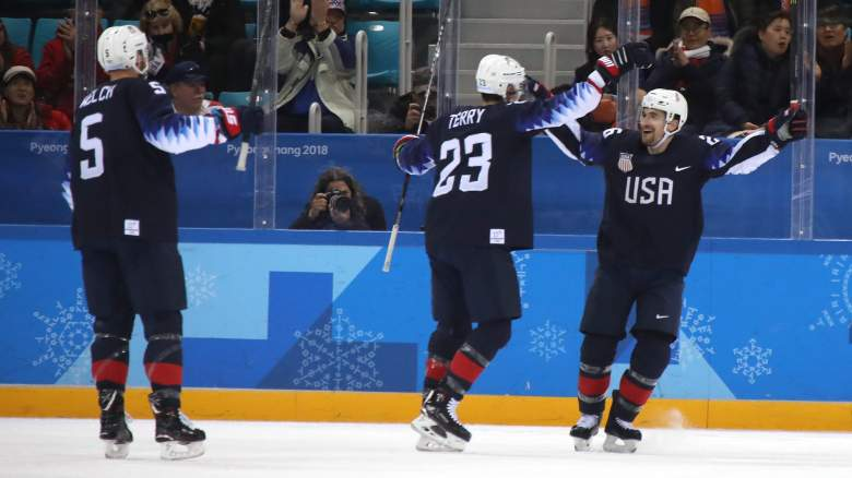 Team USA Hockey, USA vs Czech Republic, Winter Olympics 2018