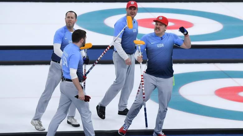 USA Curling, 2018 Winter Olympics, USA vs Sweden