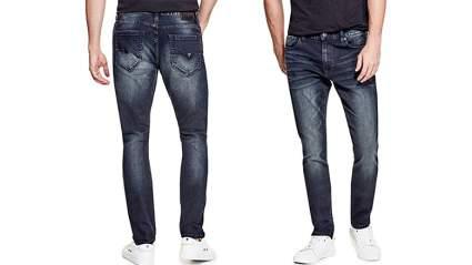 Mens loose fit jeans, men's skinny jeans, mens jeans, black jeans, guess