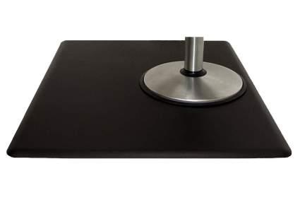 Rectangular salon mat with no depression