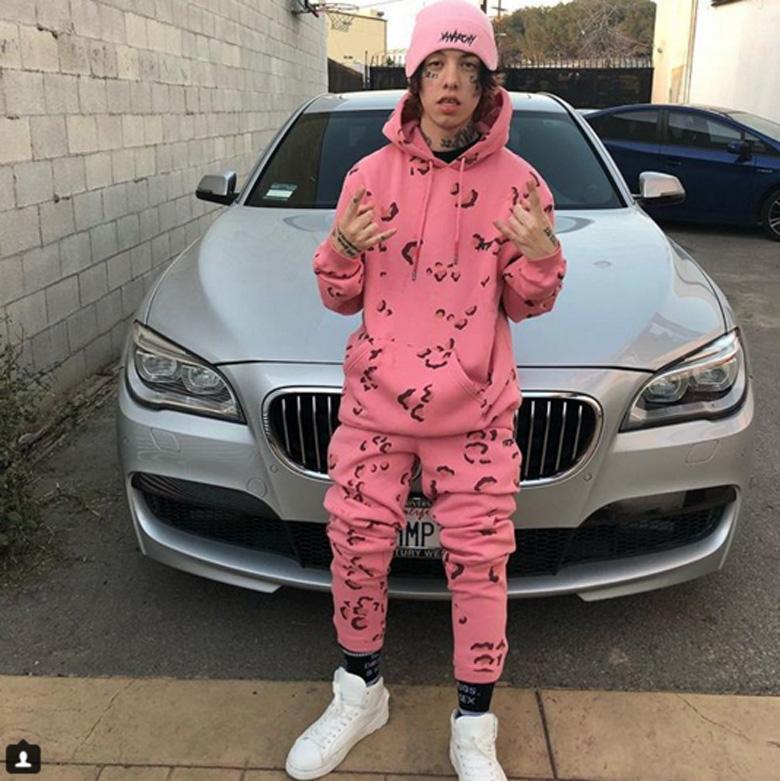 Lil Xan Instagram post