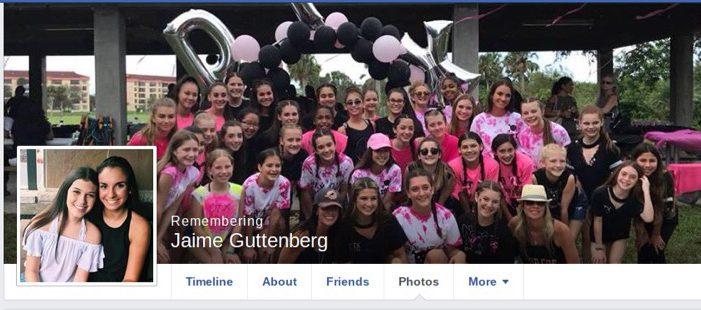 Jaime Guttenberg, Florida school shooting victim,