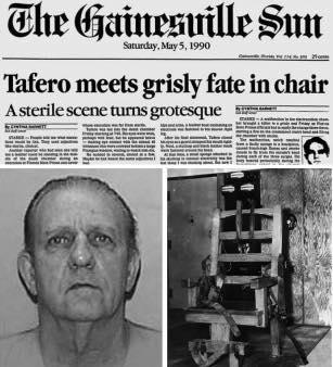 Jesse Tafero botched execution