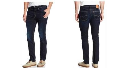 Mens loose fit jeans, men's skinny jeans, mens jeans, black jeans, levis