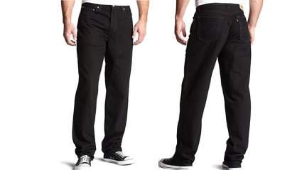 Mens loose fit jeans, men's skinny jeans, mens jeans, black jeans, levi's
