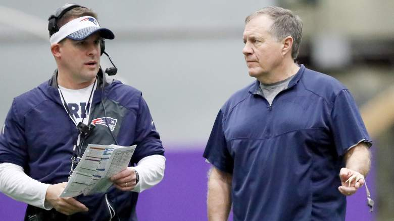 Josh McDaniels Patriots coaching