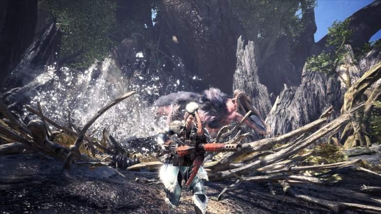 monster hunter world ancient forest