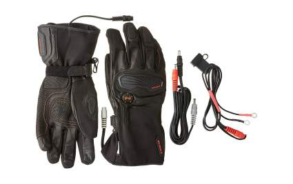 Mobile Warming Unisex Barra Leather Heated 12v Gloves