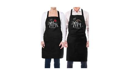 cooking aprons, romantic gifts for him, romantic gifts for husband