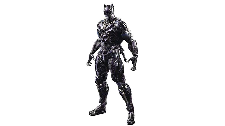Play Arts Kai Black Panther figure