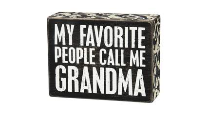 primitives by kathy box sign, grandma gifts, best gifts for grandma