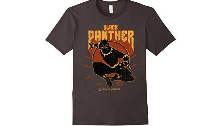 retro black panther t-shirt