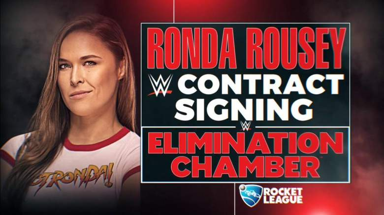 Ronda Rousey Elimination Chamber 2018
