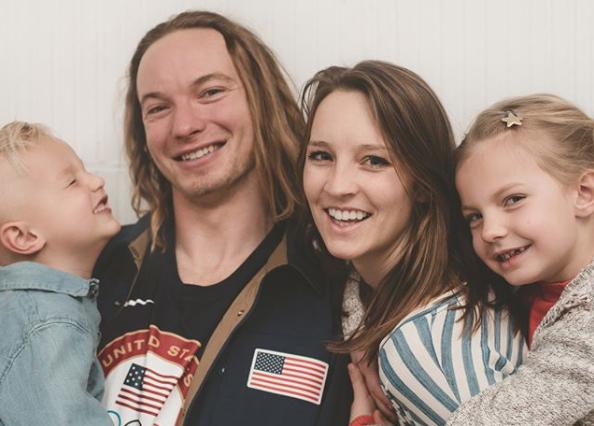 David Wise family, David Wise skier