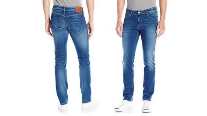 Mens loose fit jeans, men's skinny jeans, mens jeans, black jeans, tommy hilfiger