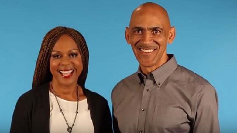tony dungy wife, tony dungy wife pictures, who is tony dungy married to
