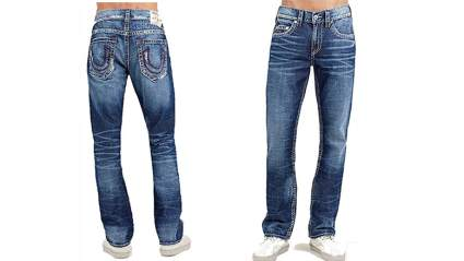 Mens loose fit jeans, men's skinny jeans, mens jeans, black jeans, true religion