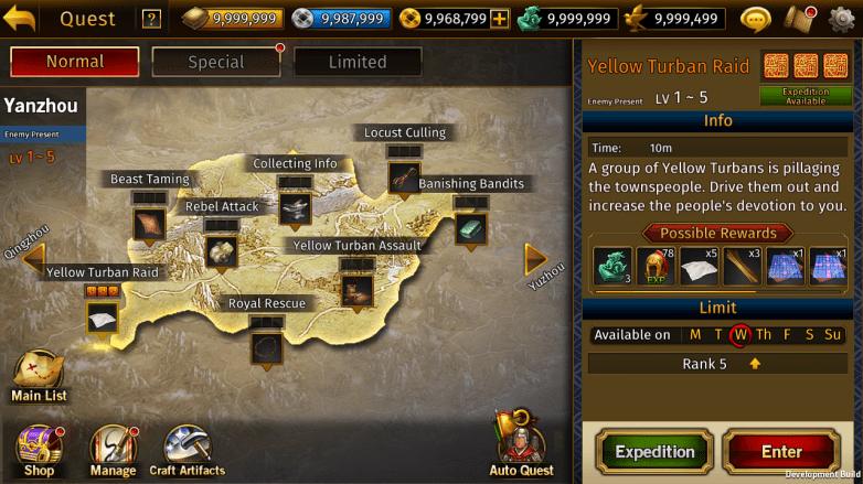 Romance of the Three Kingdoms Mobile