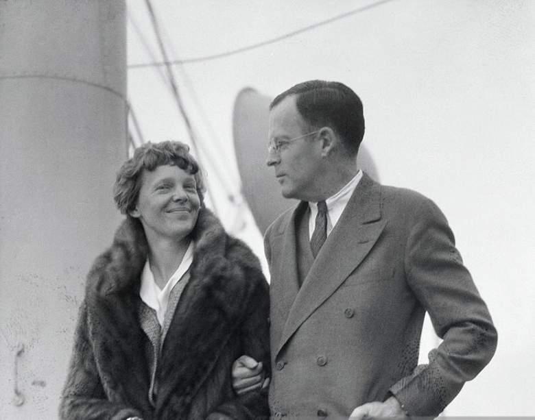 George P. Putnam & Amelia Earhart