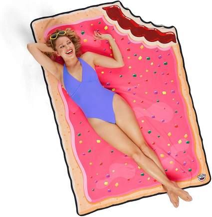 Pop Tart beach towel