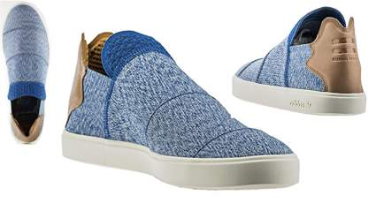 adidas x pharrell williams men vulc slip-on, Slip on sneakers for men, laceless sneakers, mens slip on sneakers, mens slip on shoes
