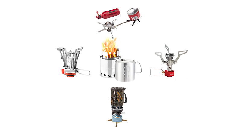 backpacking stove, ultralight camp stove, packable camp stove
