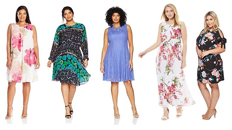 plus size floral dresses, plus size summer dresses, plus size floral print dress, plus size flowered dress