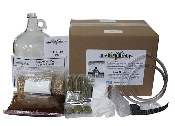Brew Naturally IPA Starter Kit