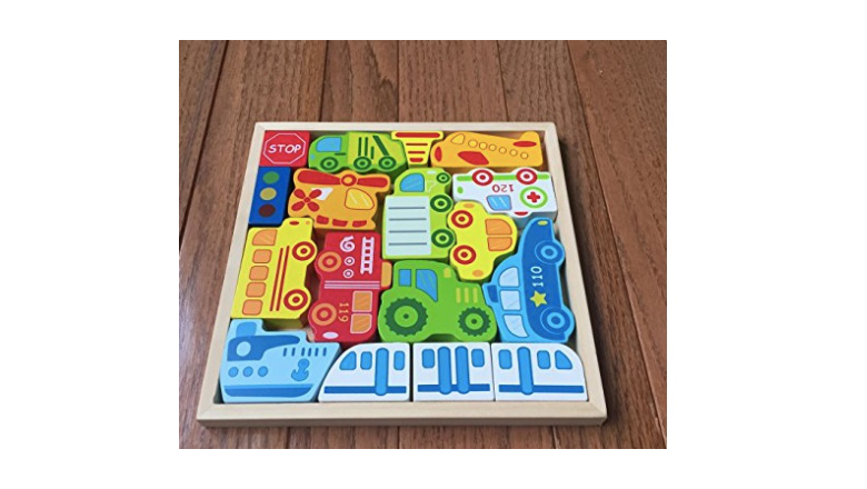 car puzzle, wooden puzzle, puzzle for toddlers,