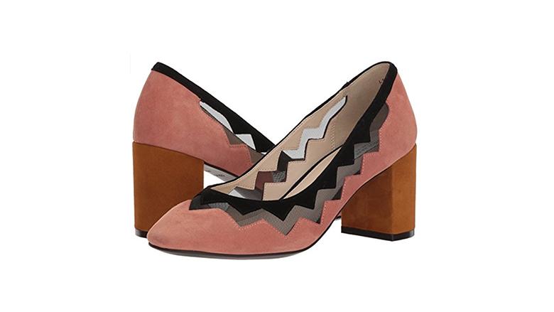 cole haan pumps, block heels, block heel shoes, block heel pumps