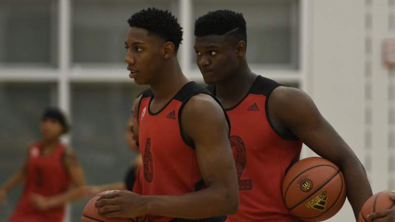 rj barrett, zion williamson, nba mock draft, top best players